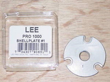 Lee Pro 1000 Shell Plate #1 for .38 Special & .357 Mag.
