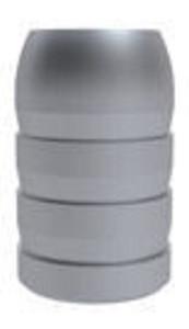 LEE Single Cavity Minie Mold Mould 575-472-M