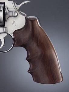 Hogue Grips Colt Python I Frame Revolvers Exotic Hardwood Grip