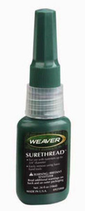 Weaver SureThread Gunsmith Adhesive