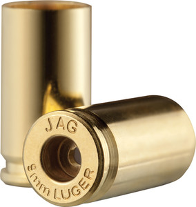 Jagemann 9mm + P Unprimed Brass Cases 100 Pack