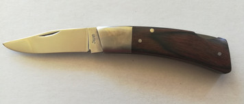 "Old Stock G96 Knife Makers Choice 2.5"" Lock Blade Folding Knife Model 804"