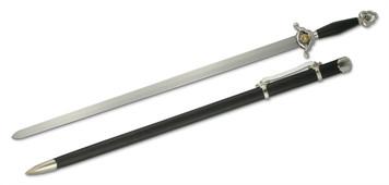 """Paul Chen / Hanwei Forge Tai-Chi Jian Sword 30"""" Blade"""