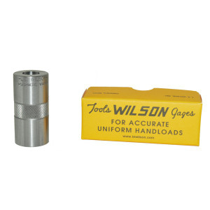 L. E. Wilson Case Gage .303 British