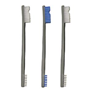Otis 3 Pack AP Brushes (2 Nylon/1 Blue Nylon)