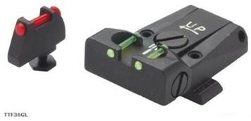LPA Sights Adj. F/O Sight Set Glock17-32 New D-Tail