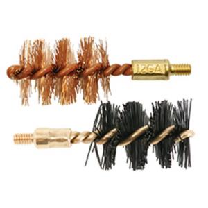 OTIS 12 Gauge Brush 2 Pack 1 nylon/1 bronze Thread Size- 8-32