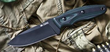 Kizlyar Supreme Knife Urban Black AUS-8