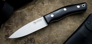 Casstrom No.10 SFK Forest Bushcraft Knife Black Micarta