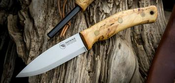 Casstrom No.10 SFK Forest Bushcraft Knife Curly Birch Firesteel