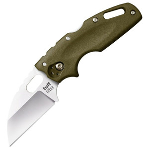 Cold Steel Knife Tuff Lite Plain Edge OD Green
