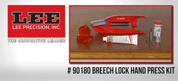Lee Breech Lock Hand Press Kit