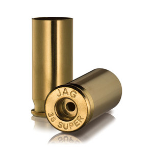 Jagemann .38 Super Unprimed Brass Cases 100 Pack