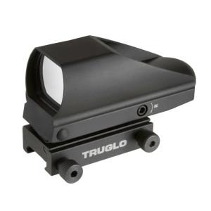 Truglo Tru-Brite Multi-Reticle Dual Color Red Dot Sight 24x34mm Window