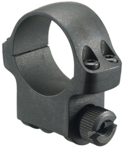 "Ruger Scope Ring 1"" Medium Alloy Hawkeys Matte 4BHM"