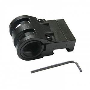 Pro Mag Picatinny Rail Off-Set Flashlight Mount