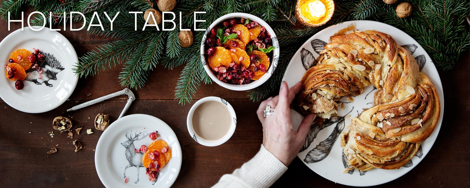 Holiday Tableware laura Zindel