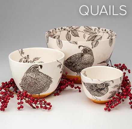 Quails - Laura Zindel Designs