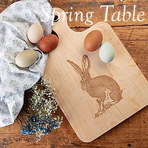 Spring Table - Laura Zindel Designs