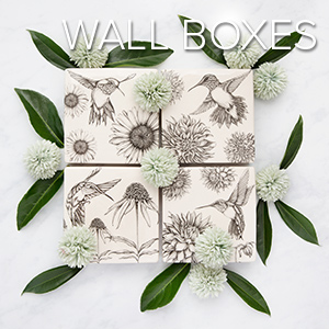 Wall Boxes - Laura Zindel Designs