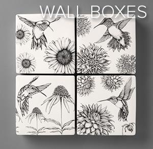 Wall Boxes - Laura Zindel Designs