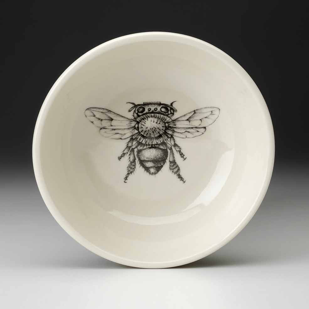 Cereal Bowl Honey Bee Laura Zindel Design
