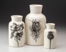 Set of 3 Jars: Botanical