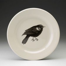 Salad Plate: Red-Winged Blackbird