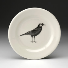 Bread Plate: Crow