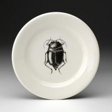 Bread Plate: Black Beetle