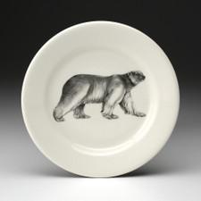 Bread Plate: Walking Bear