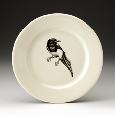 Bread Plate: Magpie