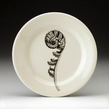 Bread Plate: Coiled Wood Fern