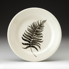 Bread Plate: Wood Fern