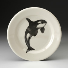 Bread Plate: Jumping Orca