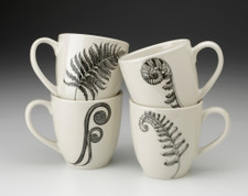 Set of 4 Mugs: Ferns