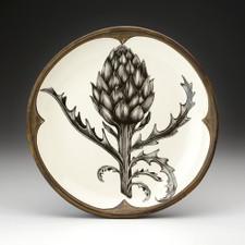 Small Round Platter: Artichoke Plant