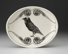 Small Serving Dish: Raven