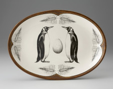 Oval Platter: King Penguin