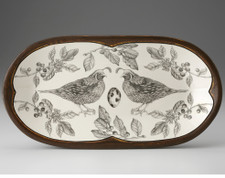 Rectangular Serving Dish: Quail