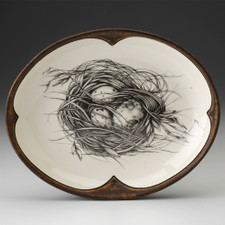 Small Serving Dish: Quail Nest