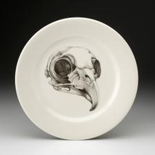 Dinner Plate: Owl Skull