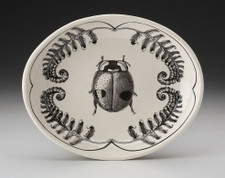Small Serving Dish: Lady Beetle