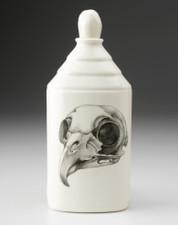 Bottle: Owl Skull
