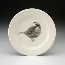 Bread Plate: Quail #4