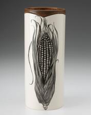 Large Vase: Corn
