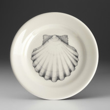 Bread Plate: Scallop Shell