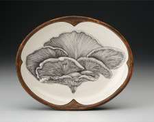 Small Serving Dish: Shelf Mushroom