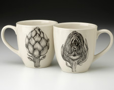 Mug: Artichoke - front & back views