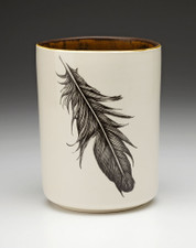 Utensil Cup: Raven Feather